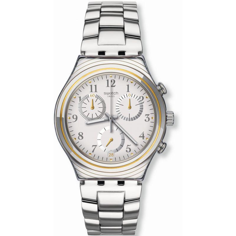 Unisex Swatch SILVERNOW Chronograph Watch
