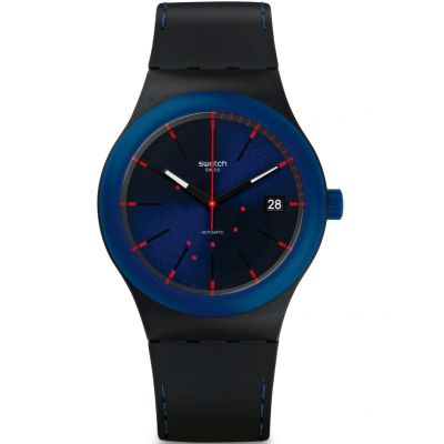 Swatch Sistem51 Originals Sistem Notte Herrenuhr in Schwarz SUTB403