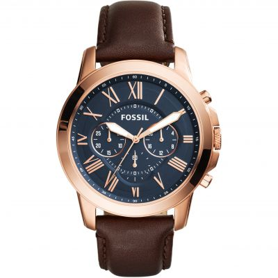 Mens Fossil Grant Chronograph Watch FS5068