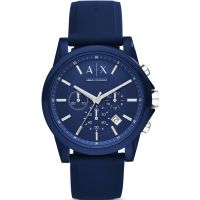 Mens Armani Exchange Chronograph Watch AX1327