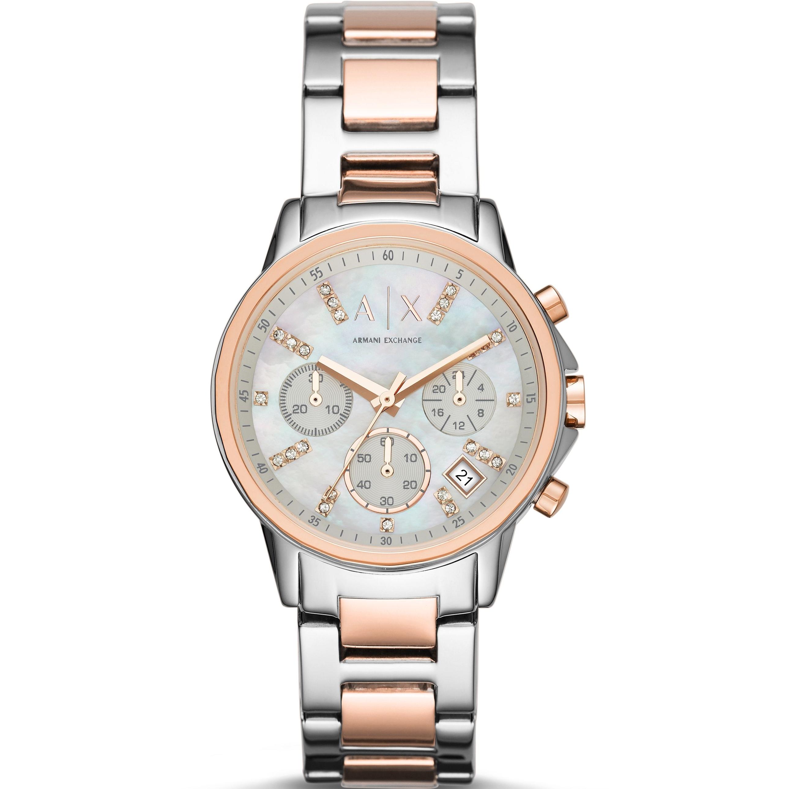 df4211e90ce135 Montre Chronographe Femme Armani Exchange AX4331   FR   Watch Shop™