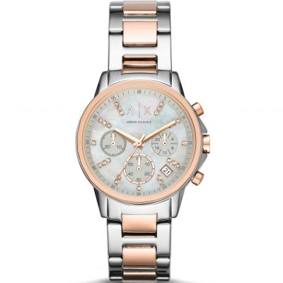 Ladies Armani Exchange Chronograph Watch AX4331