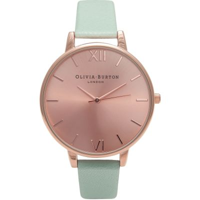Sunray Rose Gold & Mint Watch