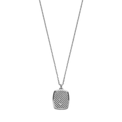 Mens Emporio Armani Stainless Steel Necklace EGS2137040