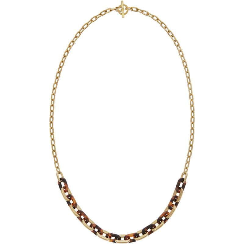 Ladies Michael Kors PVD Gold plated NECKLACE MKJ5434710