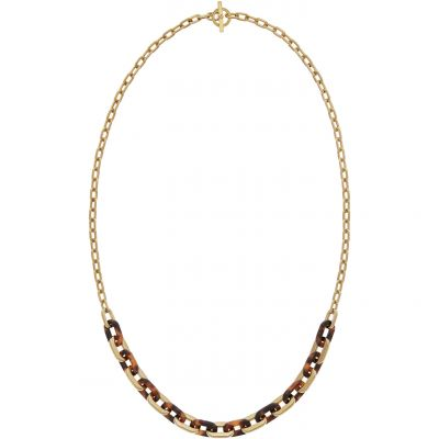 Michael Kors Dames NECKLACE PVD verguld Goud MKJ5434710