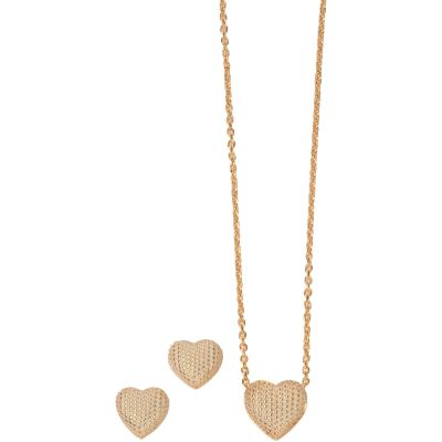 Biżuteria damska Fiorelli Jewellery Necklace & Earring Set Z1007