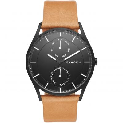 Skagen Holst Herrenuhr in Braun SKW6265