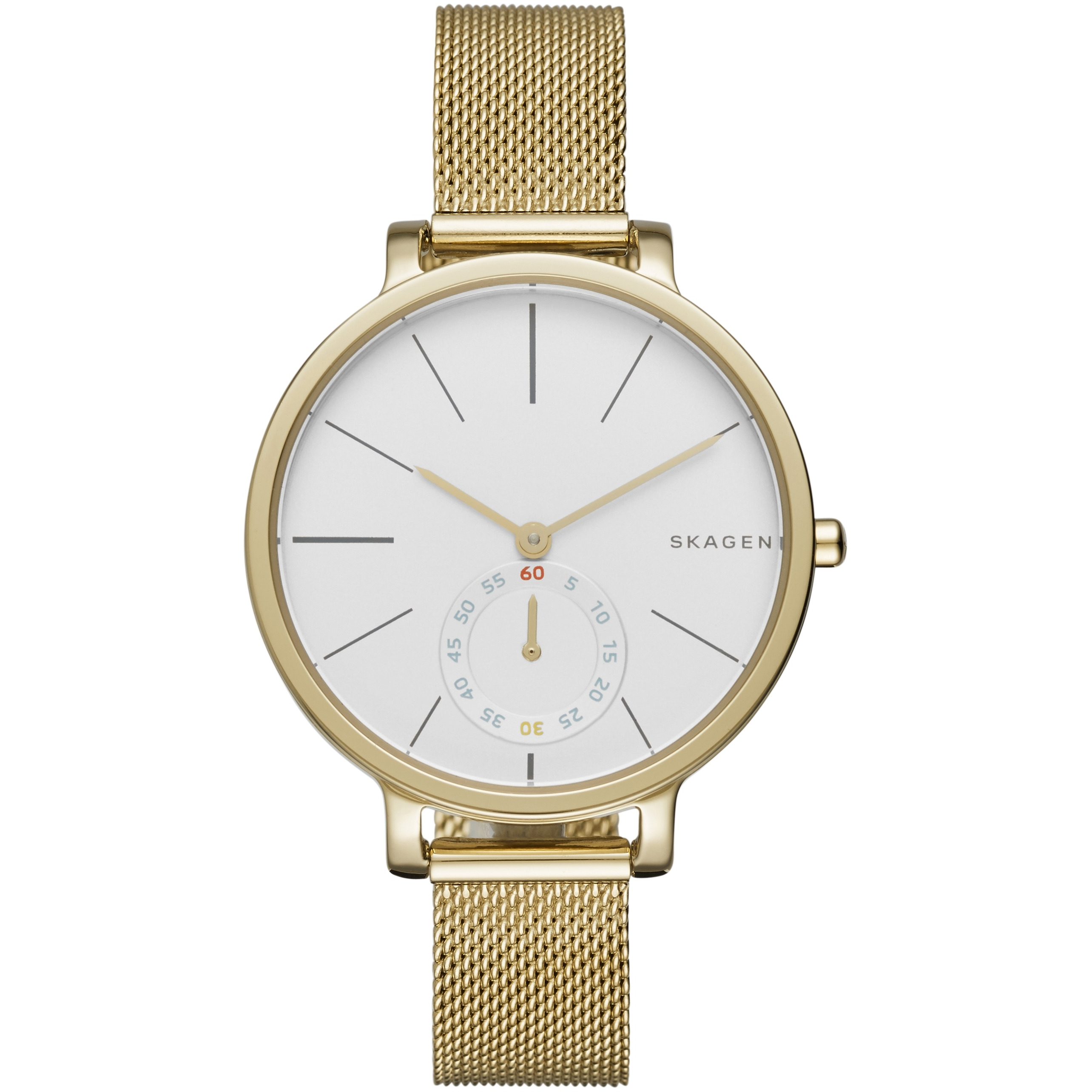 skagen belk watches rectangular p a layer tone zoom desktop steel watch src womens hagen women comp dwp gold product prev s mesh next