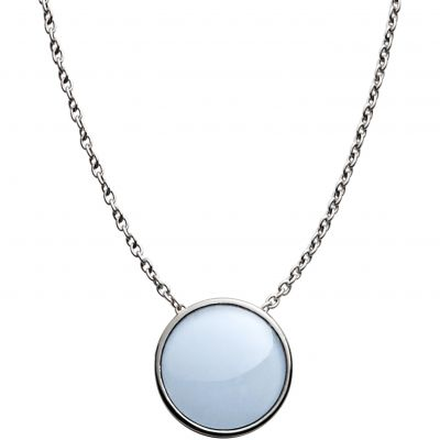 Ladies Skagen Stainless Steel SEAGLAS NECKLACE SKJ0790040