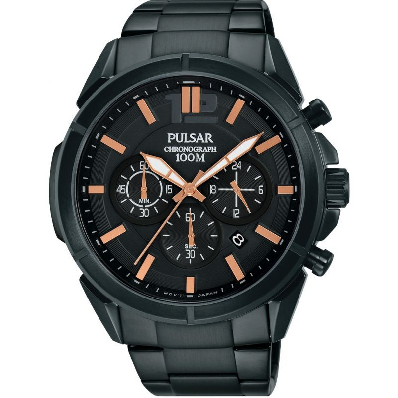 Mens Pulsar Chronograph Watch PT3765X1