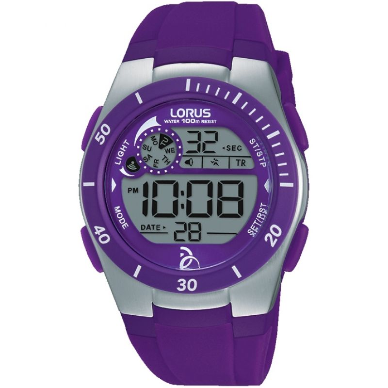 Image of            Childrens Lorus Alarm Chronograph Watch
