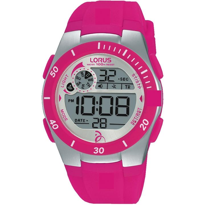 Ladies Lorus Alarm Chronograph Watch R2383kx9 Watchshop