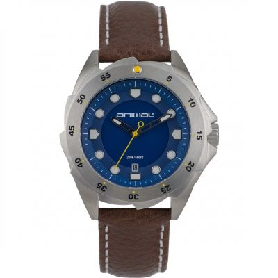 Animal Z42 Herenhorloge Bruin WW6SJ002-011