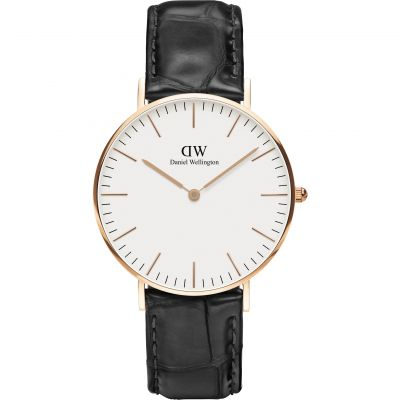 Mens Daniel Wellington Classic 36mm Reading Watch DW00100041