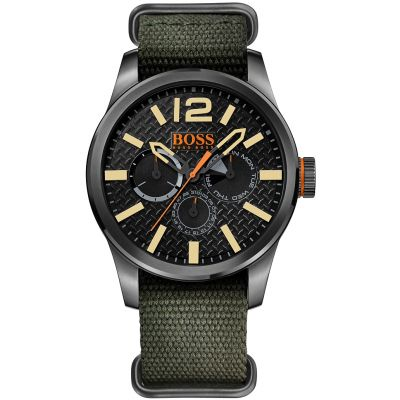 Hugo Boss Orange Paris Herenhorloge Groen 1513312