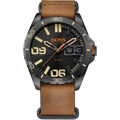 Hugo Boss Orange Berlin Berlin Herrenuhr in Braun 1513316
