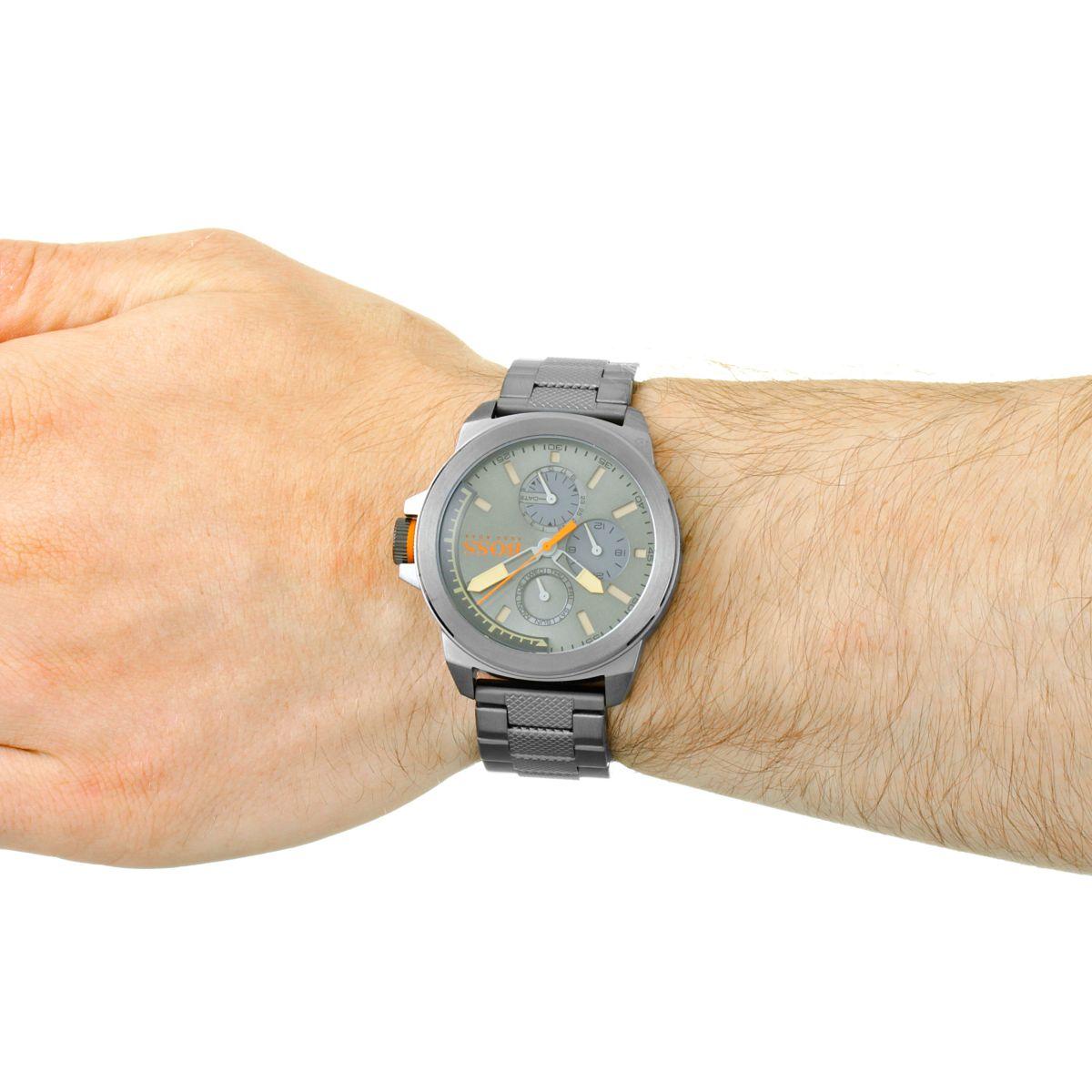 homme hugo boss orange new york watch 1513319. Black Bedroom Furniture Sets. Home Design Ideas