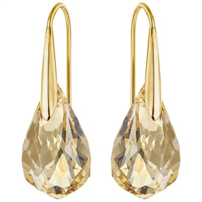 Ladies Swarovski PVD Gold plated ENERGETIC EARRINGS 5195920