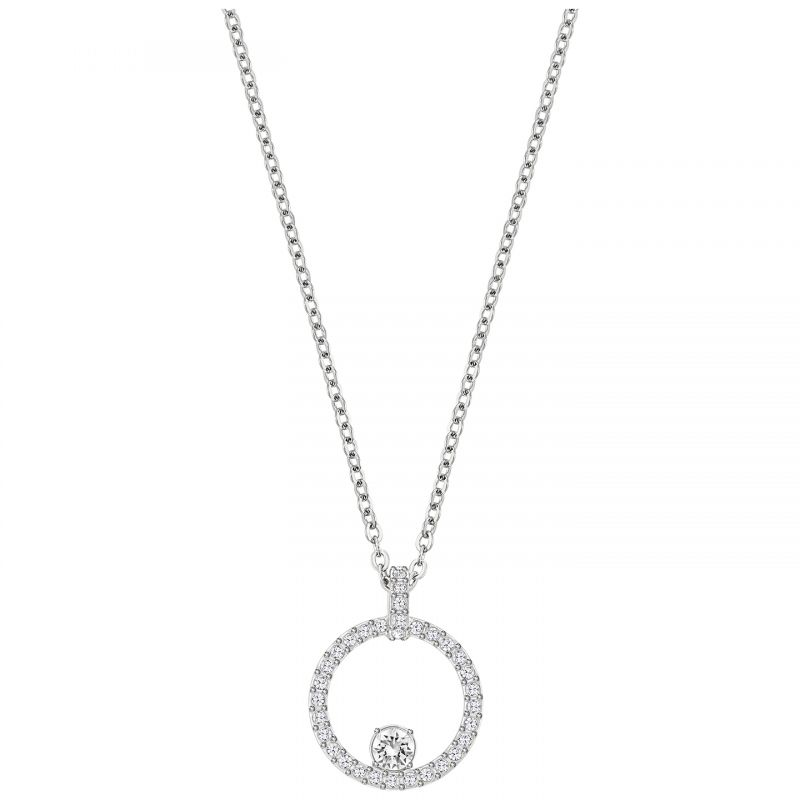 Ladies Swarovski Stainless Steel Creativity Necklace 5198686