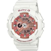 Ladies Casio Baby-G Alarm Chronograph Watch BA-110-7A1ER