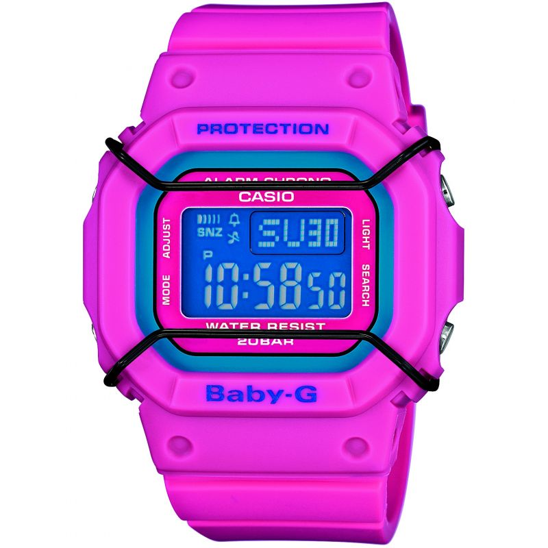 Ladies Casio BABY-G Alarm Chronograph Watch BGD-501-4ER