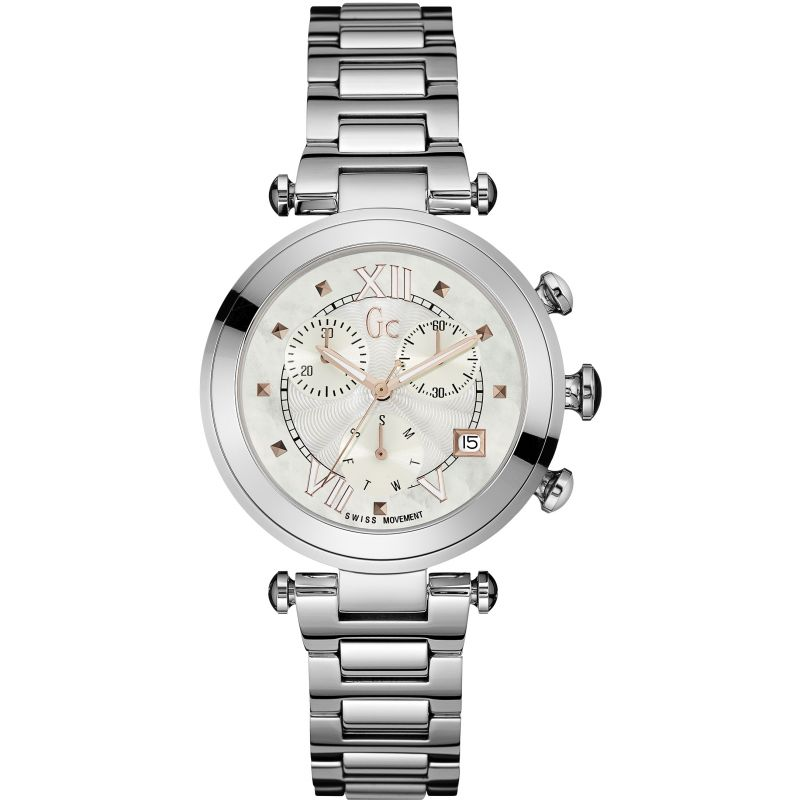 Ladies Gc Lady Chic Chronograph Watch Y05010M1