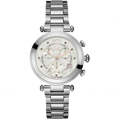 Gc Lady Chic Unisexuhr in Silber Y05010M1