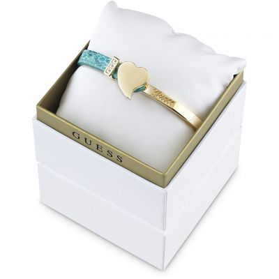 Ladies Guess PVD Gold plated Exotic Attitude Bangle Gift Set UBS61029
