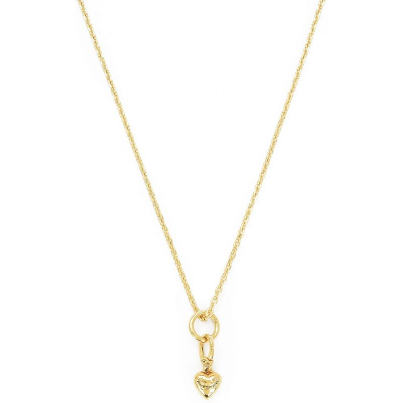 Ladies Juicy Couture PVD Gold plated Little Luxuries Charm Starter Necklace WJW852-710