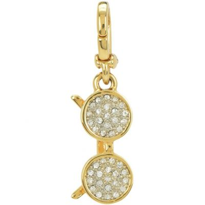 Bijoux Femme Juicy Couture Little Luxuries Pave Sunglasses Charm WJW760-710