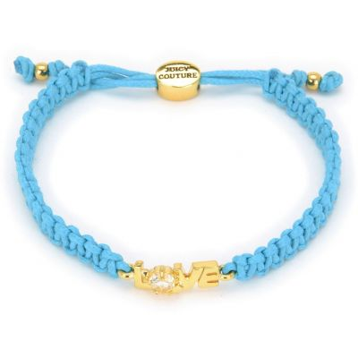 Gioielli da Donna Juicy Couture Jewellery Love Juicy Cord Bracelet GJW31-422