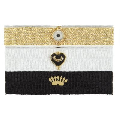 Gioielli da Donna Juicy Couture Jewellery Flat Charmy Elastics Hair Elastics WJW754-711