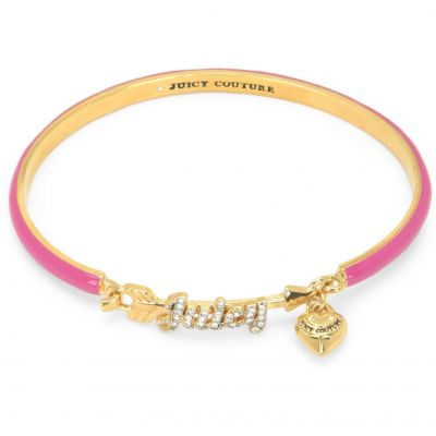 Biżuteria damska Juicy Couture Jewellery Layered In Couture Juicy Arrow Enamel Charm Bangle WJW719-654