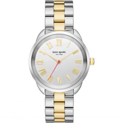 Kate Spade New York Crosstown Damenuhr in Zweifarbig KSW1062