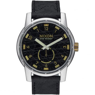 Zegarek męski Nixon The Patriot Leather A938-2222
