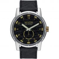 Mens Nixon The Patriot Leather Watch