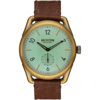 Mens Nixon The C39 Leather Watch A459-2223