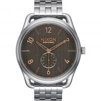 Mens Nixon The C45 SS Watch A951-2064