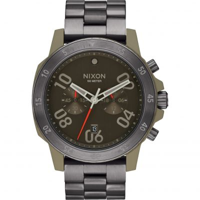 Mens Nixon The Ranger Chrono Chronograph Watch A549-2220