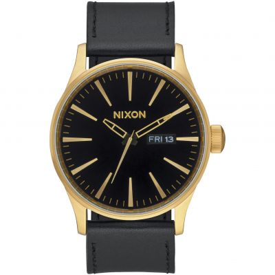 Montre Homme Nixon The Sentry Leather A105-513