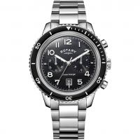 Mens Rotary Ocean Avenger Chronograph Watch GB05021/04