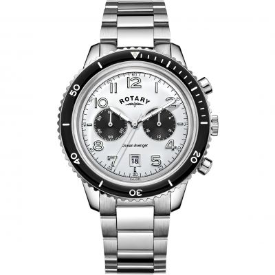 Mens Rotary Ocean Avenger Chronograph Watch GB05021/18