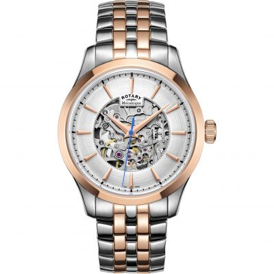 Montre Homme Rotary Mecanique Skeleton GB05034/06