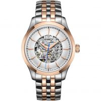 Mens Rotary Mecanique Skeleton Automatic Watch GB05034/06