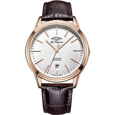 Mens Rotary Swiss Made Tradition Automatic Watch GS90164/02
