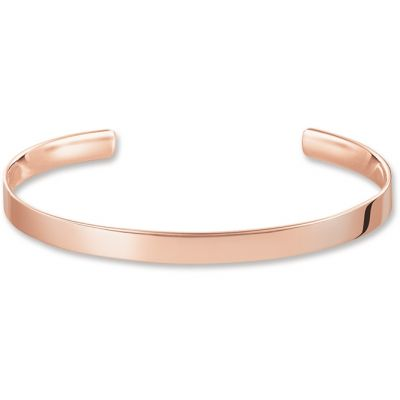 Thomas Sabo Dam LOVE CUFF BANGLE Sterlingsilver AR087-415-12-M