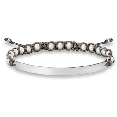 Damen Thomas Sabo Love Bridge Armband Sterling-Silber LBA0053-170-14-L21V