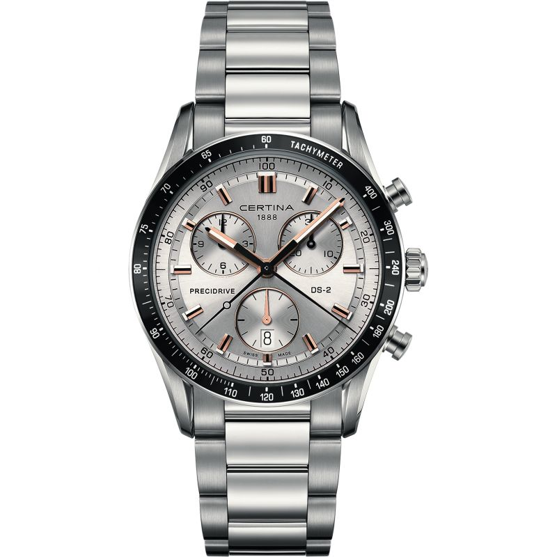 Mens Certina DS-2 Precidrive Chronograph Watch C0244471103101
