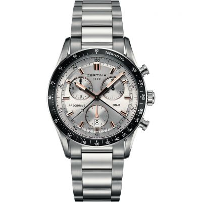 Certina DS-2 Precidrive Herrenchronograph in Silber C0244471103101